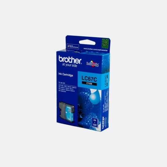 Brother LC-67C Ink Cartridge