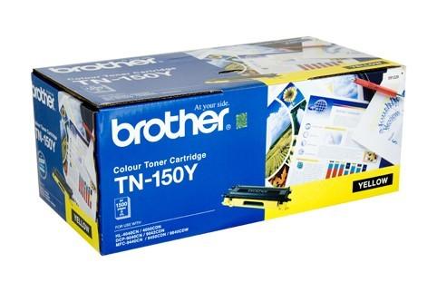 Brother Color Laser Toner Cartridge TN-150Y