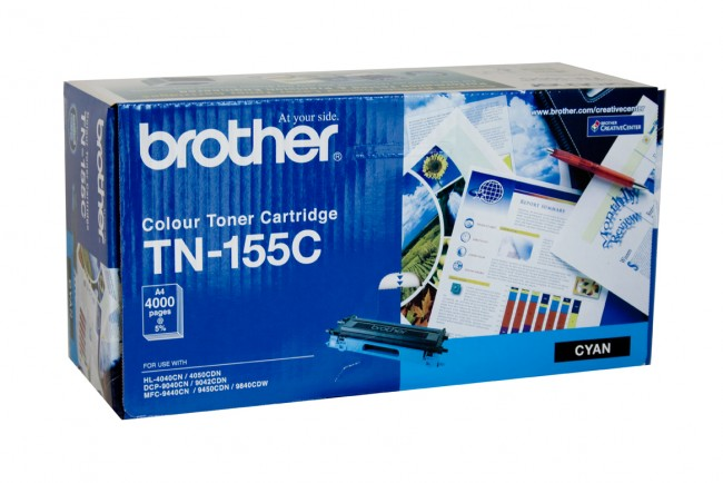 Brother Color Laser Toner Cartridge TN-155C