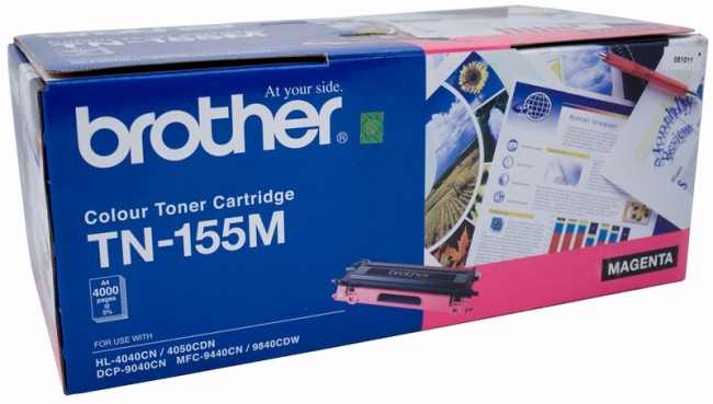 Brother Color Laser Toner Cartridge TN-155M