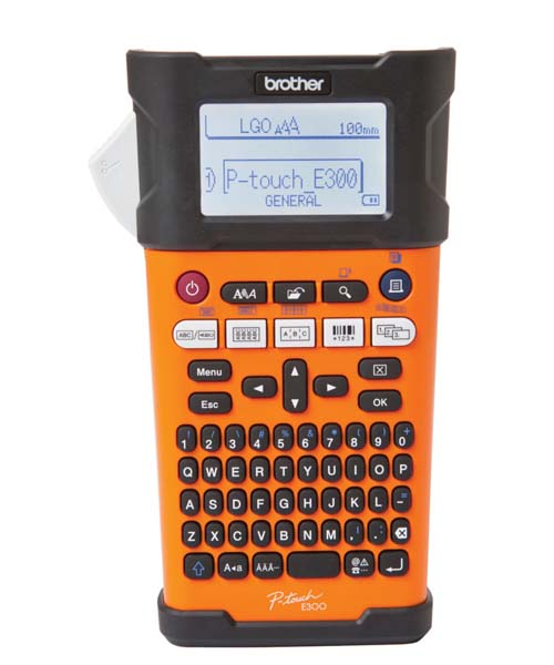 Brother Industrial Handheld Labeling Tool Printer p-touch Edge PT-E300VP