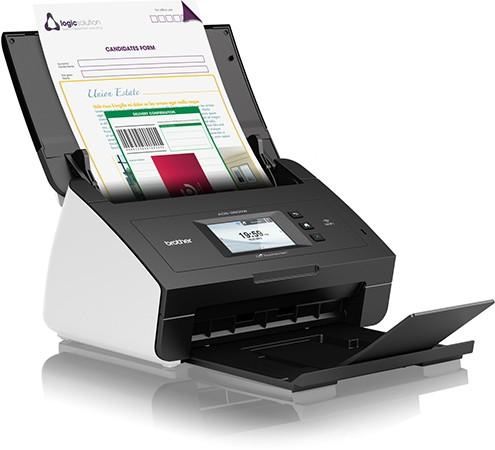Brother Professional Desktop Document Scanner (Wireless & Duplex) ADS-2600W