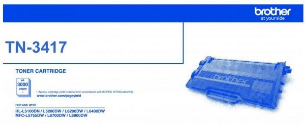 Brother TN-3417 Toner Cartridge