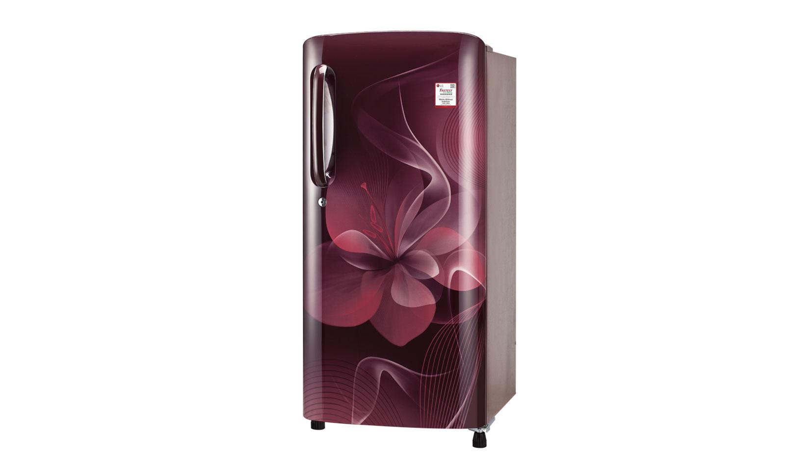 LG 190 Ltr Single Door Refrigerator GL-E201ASDB