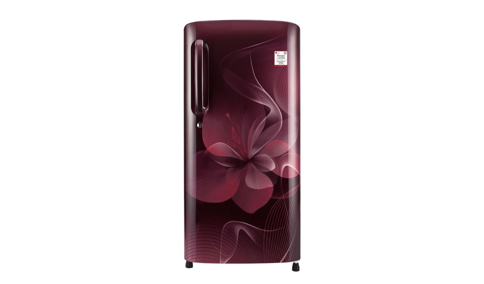 LG 190 Ltr Single Door Refrigerator GLB-205ARGB