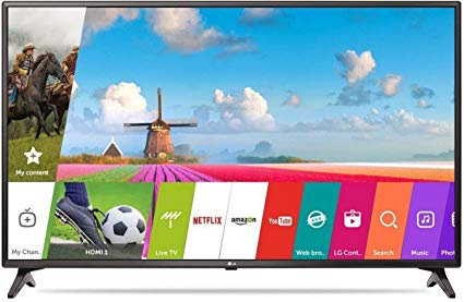LG 43 inch Smart TV 43LJ617T