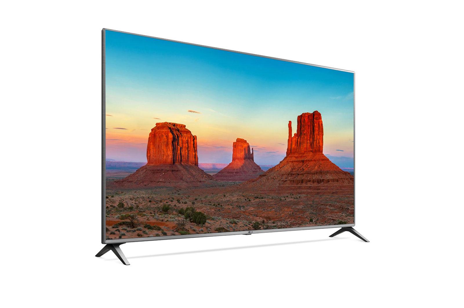 LG UHD TV 75 inch 75UK6500PTB Model