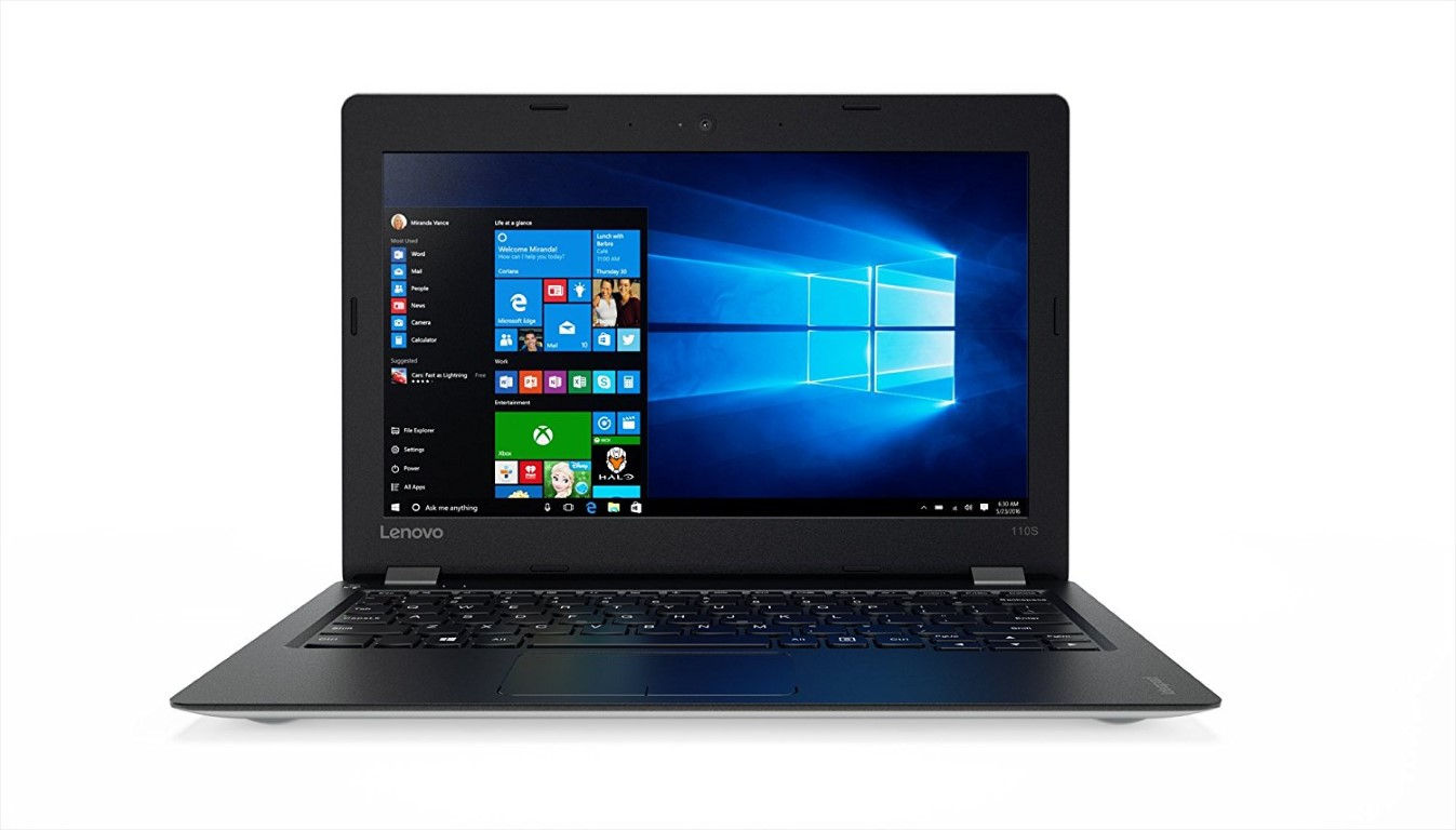 Lenovo IdeaPad IP-110 11.6-Inch Notebook (Intel Celeron N3060, 2 GB RAM, 128 GB SSD, DOS)-Silver