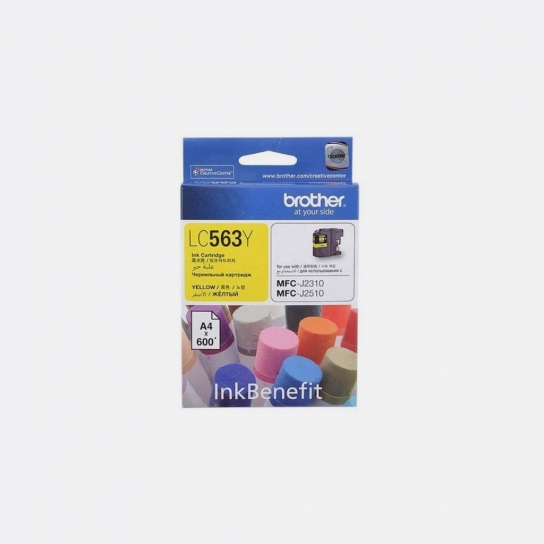 Brother LC-563Y Ink Cartridge