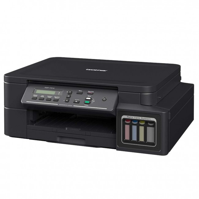 Brother DCP-T510W Compact 3 in 1 Color Inkjet Printer with wireless connectivity