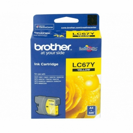 Brother LC-67Y Ink Cartridge