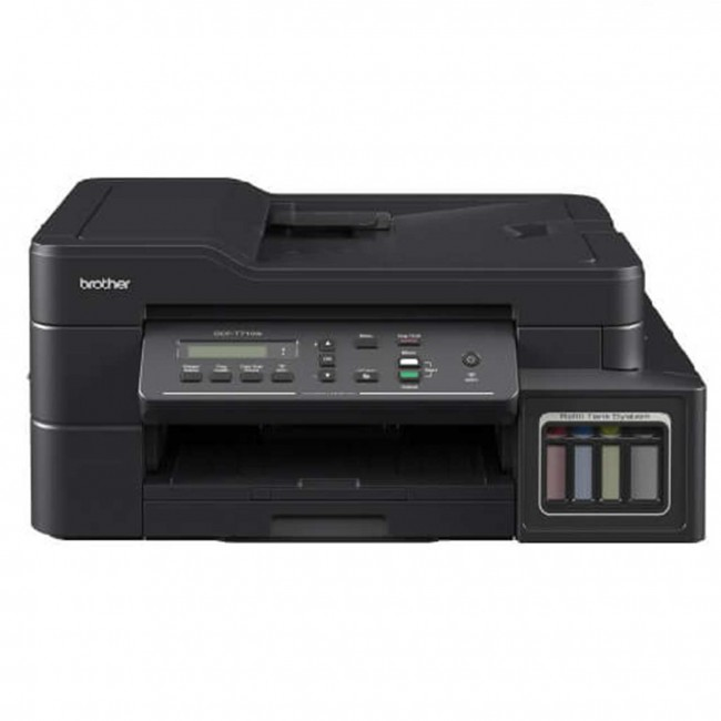 Brother DCP-T710W Compact 3-in-1 colour inkjet with wireless connectivity and ADF