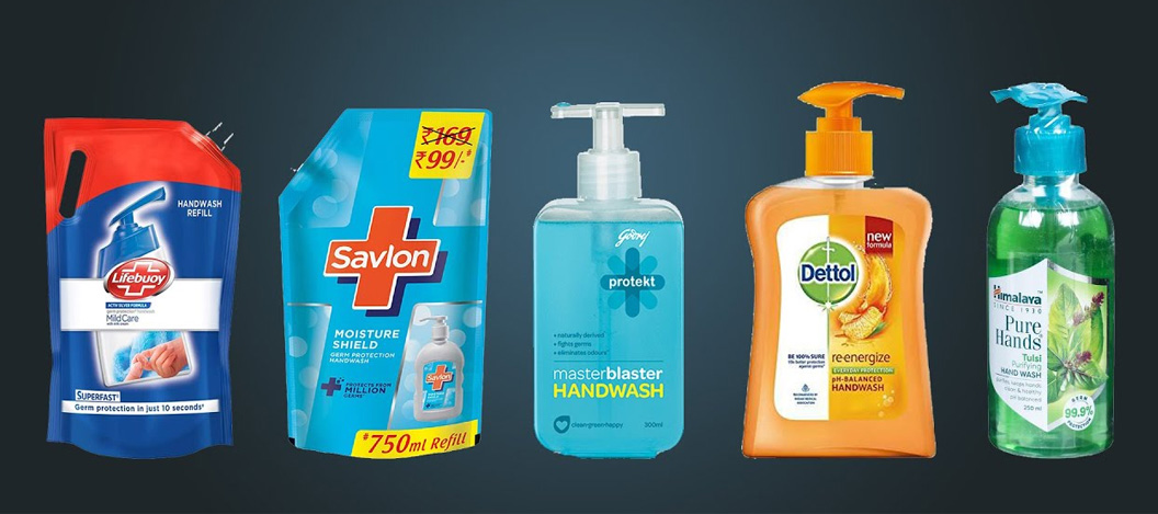 Sanitizers and Hand Wash