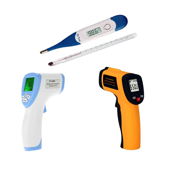 Thermal Gun and Thermometers